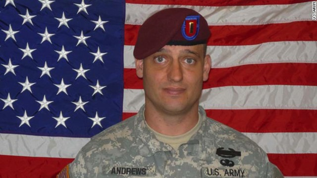 2nd Lt. Darryn Deen Andrews, killed in September 2009.