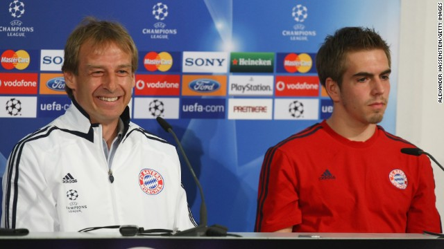 But Klinsmann, who would go on to become Bayern Munich's manager, was heavily criticized by Germany defender Philipp Lahm.