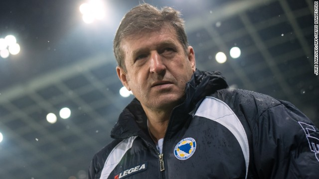 "Bosnia coach Safet Susic is imposing strict rules on his players while they are in Brazil, including a ban on sex. ""There will be no sex in Brazil,"" Susic said prior to the tournament."