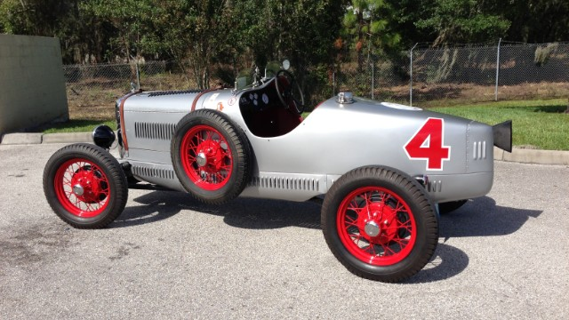 Here's a 1929 Ford Model A Speedster which owner Ford Heacock says has competed in the European Vintage Grand Prix Series.