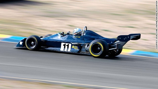 A Chevron B39 Formula Atlantic originally owned and raced by Formula B nat