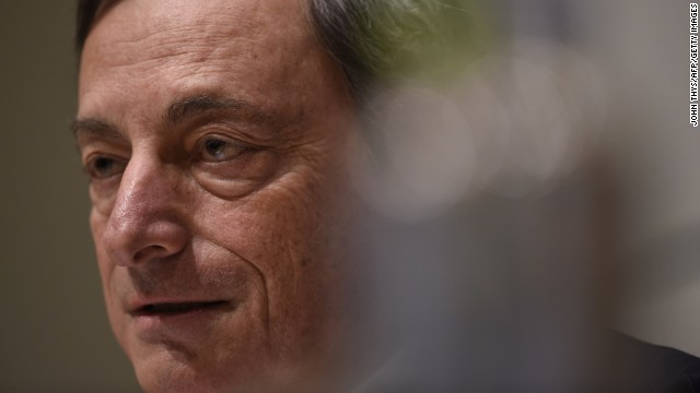 ECB chief Mario Draghi is stepping on the gas, cutting interest rates to record lows.