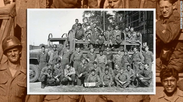 Vaccaro was a member of the 83rd Infantry Division. His commanding officer gave him permission to take photographs of the unit's experiences during the war.