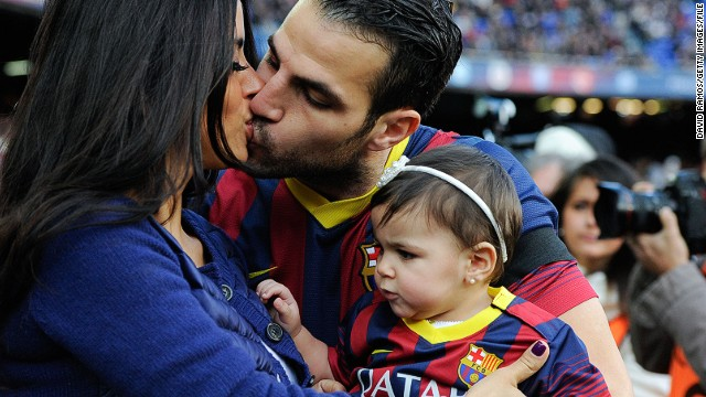 Daniella Semaan and Spanish player Cesc Fabregas photographed kissing is not a cause for concern. But it wasn't always the case. Semaan split from millionaire husband Elie Taktouk in 2011 after he opened a newspaper to see her embracing the footballer.