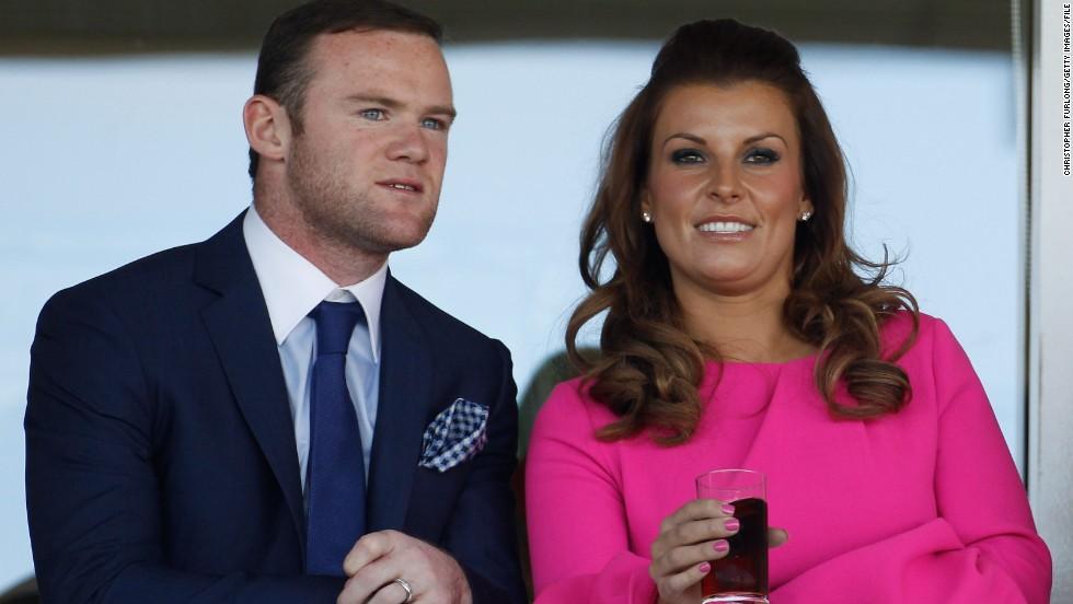 Wayne y Coleen Rooney