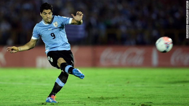 <strong>Luis Suarez (Uruguay):</strong> Yes, he just had <a href='http://www.cnn.com/2014/05/23/sport/football/luis-suarez-world-cup-football/'>knee surgery</a>, and Coach Oscar Tabarez says he can't be sure his magical goal conjurer will play. If Suarez plays, he promises to be a strong storyline in a tightly contested group. If he doesn't play, ditto. Uruguay has other goal scorers in Edinson Cavani and Diego Forlan, but neither enjoyed the form that Suarez displayed this season in netting 31 goals as part of the high-octane Liverpool offense.