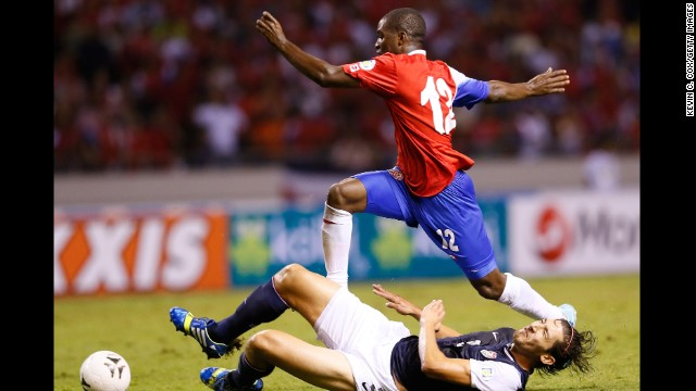 Joel Campbell (Costa Rica): Keep an eye on the 21-year-old. Costa Rica's opponents certainly will. Signed by Arsenal at age 18, he's spent the last three years on loan to French, Spanish and Greek clubs. USA fans will also remember him for his ridiculous dive during a World Cup qualifier last year. He'll be looking to redeem himself -- and his ho-hum club form of late -- with a memorable Cup, but he'll have his work cut out.