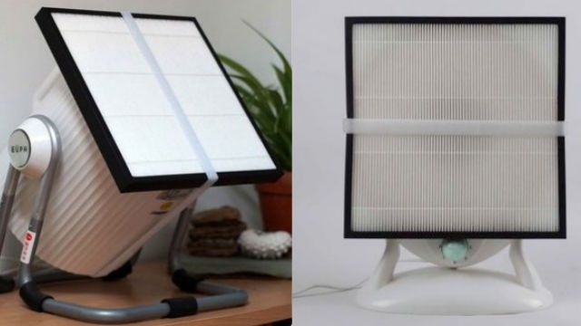 Thomas Talhelm started worrying about the air inside his Beijing home in 2013 but couldn't afford the luxury of an expensive air purifier. He created an air purifier consisting of a basic household fan with a HEPA filter attached to it.
