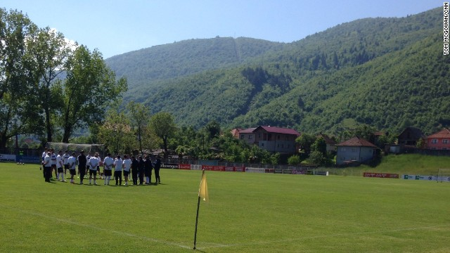 The team's final training camp before departing for the World Cup took place in Ilidza, a picturesque suburb on the outskirts of Sarajevo.