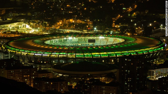 The setting for Bosnia's opening match is Rio de Janeiro's iconic Maracana Stadium. It hosted the 1950 World Cup final, the first time Brazil hosted the tournament, and has been lavishly renovated for this year's showpiece.