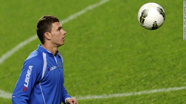 Edin Dzeko will spearhead Bosnia-Herzegovina's challenge at its first ever World Cup. The striker heads to his first major international tournament after a season which saw him win the English Premier League with Manchester City.