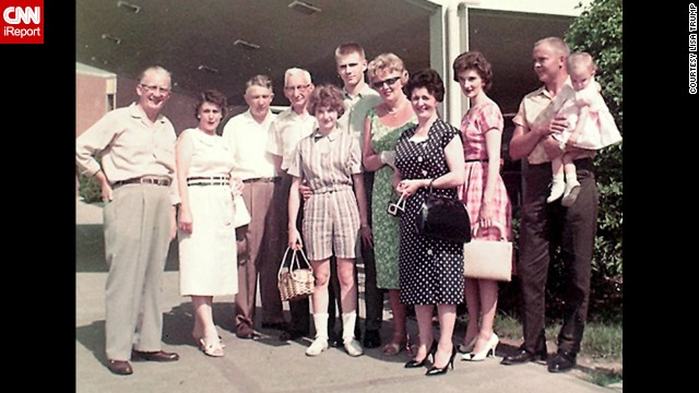 "<a href='http://ireport.cnn.com/docs/DOC-1141005'>Lisa Trump</a>, whose father was a German immigrant, was just one year old when this 1961 photo was taken at the Cincinnati airport. ""We hosted many visiting family members as they came to the USA,"" she said. ""Going to the airport to greet or send off family was always a big deal. It really was customary at the time to be at the airport or to even travel dressed in your Sunday best. As the daughter of an immigrant, those visits to the airport have been a lasting lifetime memory of a way to connect to my far-away family members."""