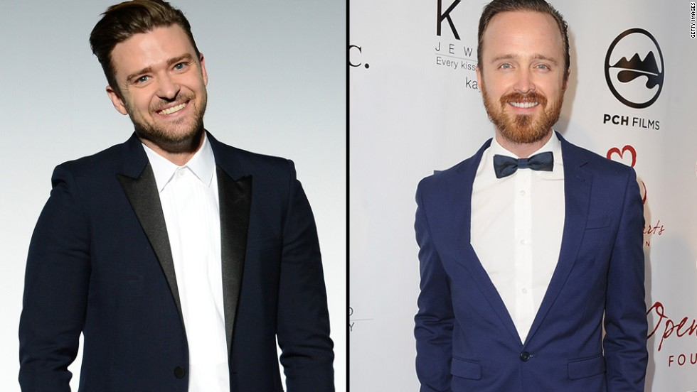"Justin Timberlake, left, and Aaron Paul are two very busy guys, but sometimes pizza with friends is a bigger priority. When Timberlake asked on Twitter whether he was the only one who ""legitimately"" misses Jesse Pinkman, Paul's ""Breaking Bad"" character, <a href='https://twitter.com/aaronpaul_8/with_replies' target='_blank'>Paul replied</a>: ""I miss you too, man. We should hang out and eat some pizza."" If Timberlake's response is any indication, the two bosom buddies will soon be tracking down <a href='https://twitter.com/jtimberlake/status/474530054798450691' target='_blank'>a Chick-fil-A pie. </a>"