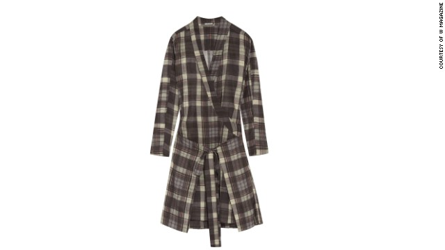 This checked dress has an outdoorsy, cabin-friendly feel. Etoile Isabel Marant Vanessa checked cotton dress, <a href='netaporter.com' target='_blank'>netaporter.com</a>.