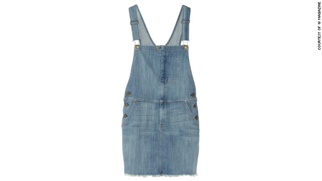 Paired with a simple t-shirt, these medium-wash overalls are just right for a fun summer day. Current/Elliott The Garrison Overall stretch-denim dress, <a href='netaporter.com' target='_blank'>netaporter.com</a>.