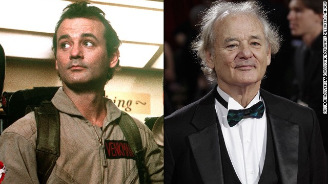 "As the charming Dr. Peter Venkman, Bill Murray could do no wrong in the eyes of the audience. Not much has changed since then. Most recently Murray acted in ""Monuments Men"" and ""The Grand Budapest Hotel,"" and this fall stars in the buzzworthy ""St. Vincent."" In 2015, h"