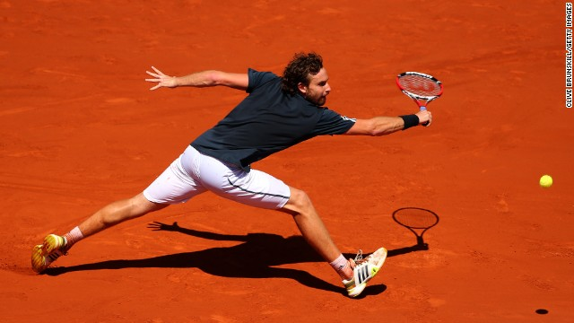 Gulbis put up a fight but would eventually succumb to a 6-3 6-3 3-6 6-3 defeat at the hands of the world No. 2.