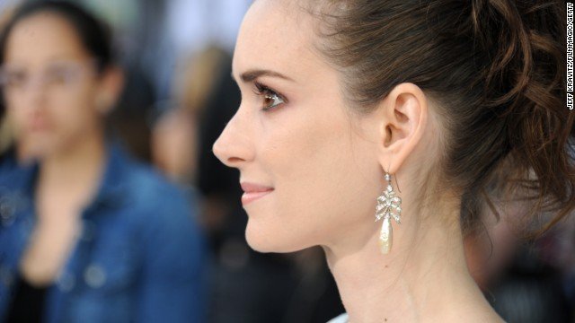 "During Winona Ryder's 2002 trial for shoplifting from Saks Fifth Avenue, the shopping outlet's security chief testified that Ryder apologized with the claim that she'd committed the crime for a role. ""She said, 'I'm sorry for what I did. My director directed me to shoplift for a role I was preparing,' "" <a href='http://www.ew.com/ew/article/0,,385394,00.html' target='_blank'>the security chief said. </a>"