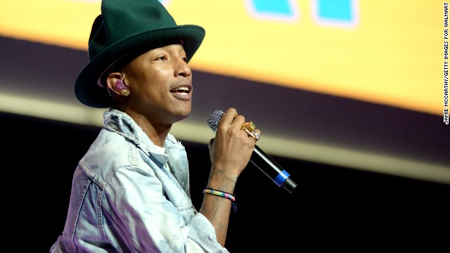 "Pharrell Williams' Elle UK cover story came under fire in June because the ""Happy"" singer/songwriter was wearing a traditional Native American headdress. Amid the backlash, Williams tweeted to <a href='https://twitter.com/search?q=%23nothappy' target='_blank'>his #nothappy fans</a>: ""I respect and honor every kind of race, background and culture. I am genuinely sorry."""