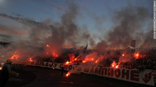 Liga Champions  - Red Star Belgrade Dicoret Dari Liga Champions 2014/2015