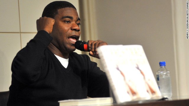 "Tracy Morgan promotes his new book ""I Am The New Black"" at Barnes & Noble Union Square on October 22, 2009 in New York City."