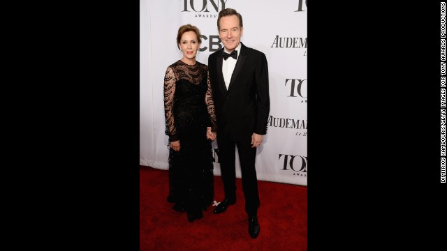 Robin Dearden and actor Bryan Cranston