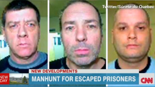 Tres reos escapan en helicóptero de una cárcel en Canadá