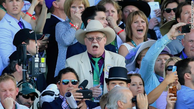 "<strong>Steve Coburn:</strong> Most horse owners might be delighted if their horse won two of the world's biggest races, snaring millions in purse money. But not Coburn. After California Chrome failed to place in the Belmont Stakes this past weekend, Coburn <a href='http://www.cnn.com/2014/06/08/sport/california-chrome-injury/index.html'>directed his angst</a> at the horses who didn't race the Kentucky Derby or Preakness, saying their owners took ""the coward's way out."" <a href='http://www.cnn.com/2014/06/09/us/california-chrome-owner-apology/index.html'>He later apologized.</a>"