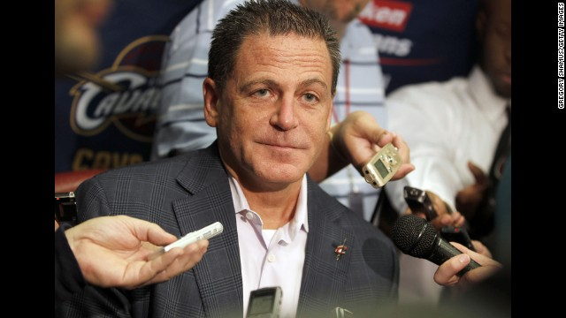 """<strong>Dan Gilbert:</strong> After Ohio's then-favorite son, LeBron James, ditched Cleveland to join Miami, Cavaliers owner Dan Gilbert went nuts on the """"self-titled former king,"""" calling him narcissistic and cowardly. Many non-Miami basketball fans had been annoyed by James' televised """"Decision."""" But with one <a href='http://www.cnn.com/2010/TECH/web/07/09/comic.sans.cavs.james/'>comic sans tirade</a>, Gilbert redirected that criticism on himself and was promptly branded crazy and a racist."""