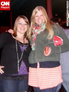 By her 28th birthday in early 2013, Durham, left, had begun her weight loss journey by making small changes to her diet.