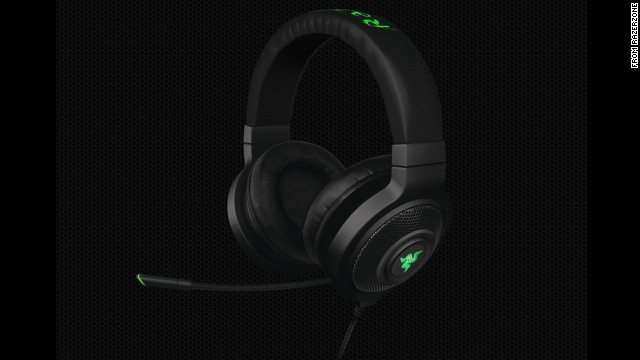 Great for a dad who loves online gaming or who just needs a quality set of headphones and a solid microphone. The microphone on<a href='http://www.razerzone.com/store/razer-kraken-71' target='_blank'> the Kraken headset </a>($99) is retractable and can be flipped into an earpiece when not in use.