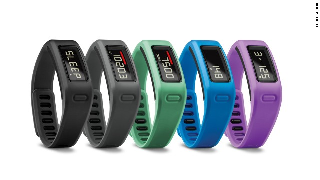"With all the fitness bands on the market, from FitBit to Nike Fuel, Garmin's entry sometimes gets lost in the shuffle.<a href='http://sites.garmin.com/vivo/' target='_blank'> The VivoFit </a>($129) is waterproof and has a helpful (or really annoying) ""time to move"" bar that flashes when you've been still for too long."