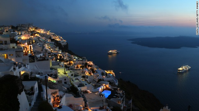 Beautiful islands, ancient architecture and delicious Mediterranean cuisine are just a few of the reasons why Greece tops Lonely Planet's 2014 Best of Europe Top 10 list. Hopping from one gorgeous island to another is part of the Greek experience, and Santorini (shown here), with its colorful cliffs and white Cycladic houses, is not to be missed. The sunsets are known to be exquisite, and there are also plenty of archaeological sites to explore such as Akrotiri, the site of an ancient Minoan city buried beneath volcanic ash from an eruption dated to the mid-17th century BC.