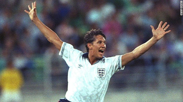 BBC presenter Gary Lineker played in the 1986 and 1990 World Cups for England and features in the broadcaster's short film to promote its Brazil 2014 coverage.