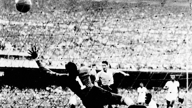 Whatever you do don't mention the 1950 World Cup to Brazil. It's a defeat that still haunts the 2014 hosts as Puma are keen to point out.