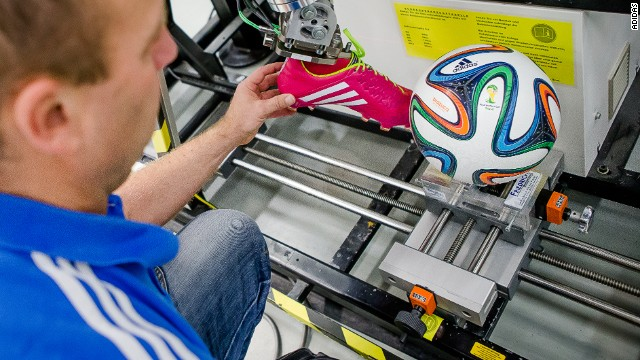 German manufacturer Adidas put the Brazuca through a rigorous testing program before letting 600 players try out the ball.