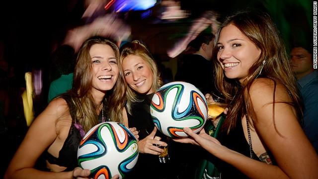 Two and a half years on from the drawing board, the Brazuca was given a glamorous launch party in Rio de Janeiro in December 2013.