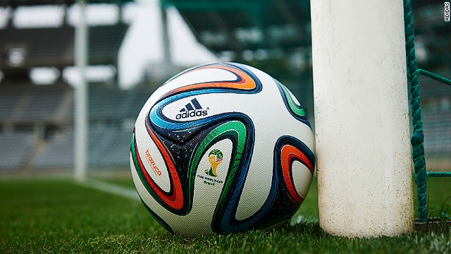Meet the Brazuca -- the official World Cup match ball hoping not to score an own goal at Brazil 2014.