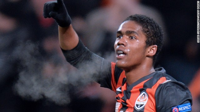 Douglas Costa is just one of Shakhtar's many Brazilian stars.
