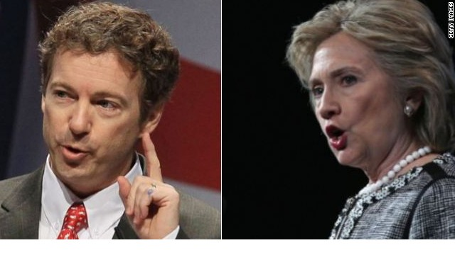 Rand Paul: Hillary Clinton sings a 'sad song' about financial struggles
