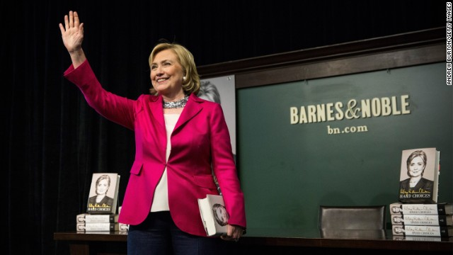 Liberated Hillary Clinton takes sigh of relief after first leg of book tour blitz