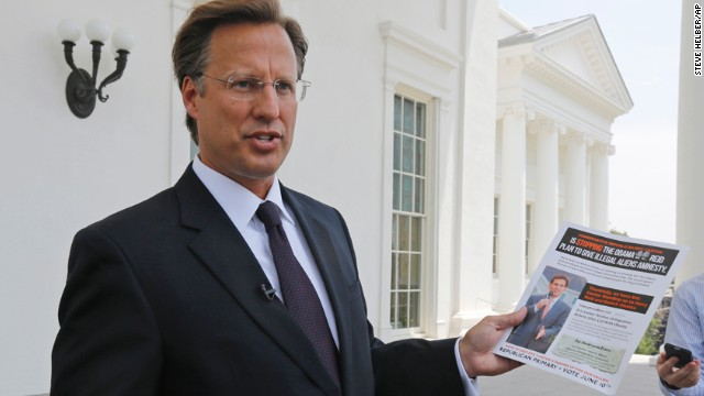 Dave Brat makes first post-primary campaign stop
