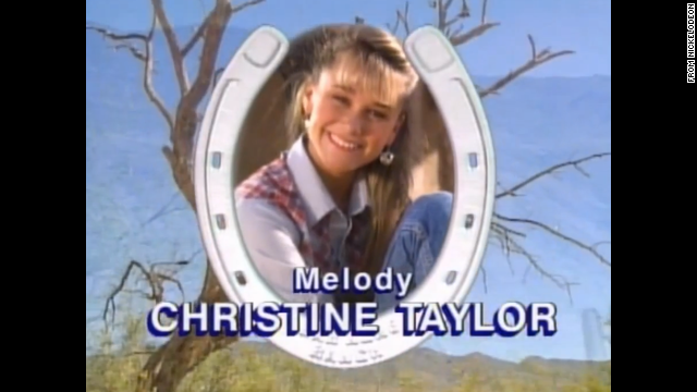 Christine Taylor played Melody Hansen, the Bar None Dude Ranch's bubbly girl-next-door type.