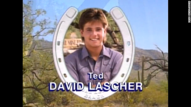 David Lascher starred as handsome trou