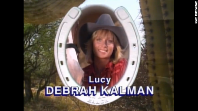 Debrah Kalman played Lucy, the mother figure of the dude ranch, and the voice of reason for the teens.