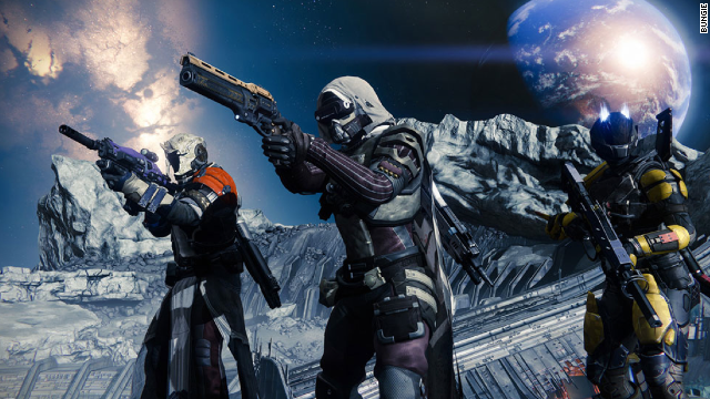 """The next big thing from Bungie, the creators of the """"Halo"""" series, """"Destiny"""" presents an open-world scenario in which players defend a run-down Earth from invaders."""