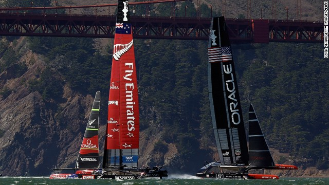 "The race heralded a new era in sailing, with new technology allowing spectacular coverage. ""People who had never talked about sailing before, never had any interest in it, suddenly became absolutely captivated by the Cup,"" said Charles Dunstone, chairman of the Ben Ainslie Racing Team."