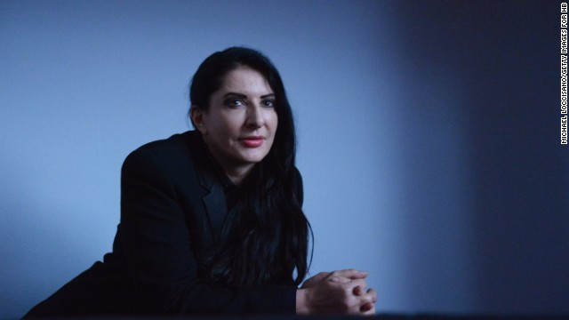 """Abramovic, who was named one of Time Magazine's most influential people of 2014, has achieved mainstream recognition while keeping her avant-garde edge, but her utter dedication to her calling has left little space for other people in her life: """"One of the most difficult things that I had to confront was to make a decision to live life the way I do. I really have had to conquer loneliness,"""" she says."""