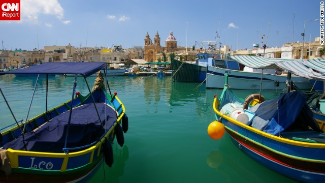 <a href='http://ireport.cnn.com/docs/DOC-1062531'>Ted Perillo </a>snapped this photo in a fishing village on the island of Malta, the largest of the three Maltese islands located in the Mediterranean Sea.