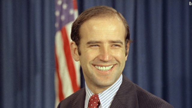 1972: Democrat Joe Biden was a fresh faced, political newcomer when he defeated Republican incumbent Sen. Caleb Boggs.
